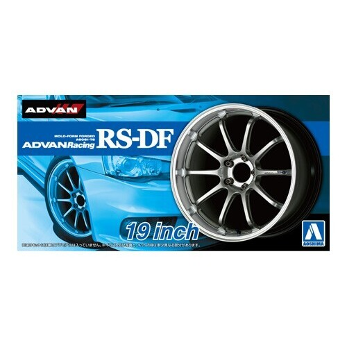 Aoshima 1/24 Advan Racing RS-DF 19inch Wheels