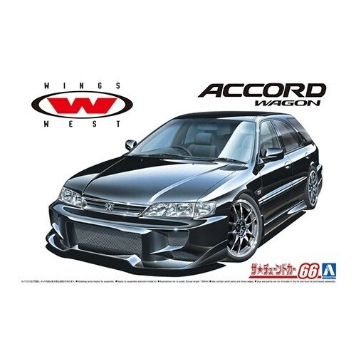 Aoshima 1/24 Wingswest CF2 Accord Wagon '96 (Honda)